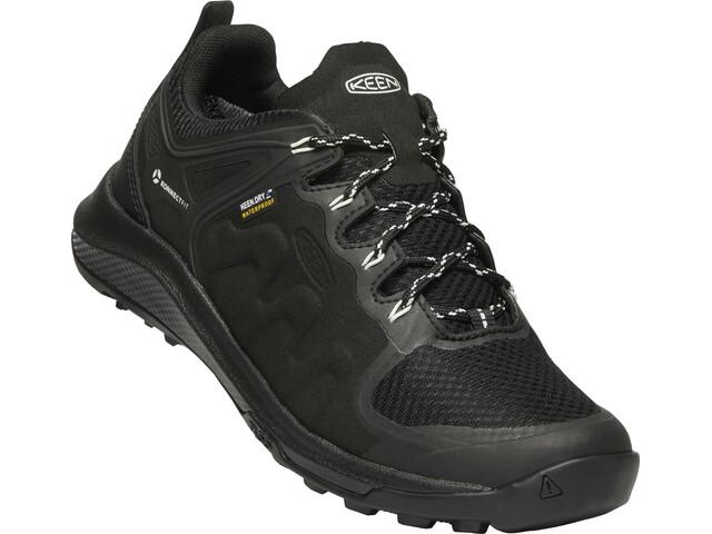Keen Explr WP Shoes Dame Black/Star White